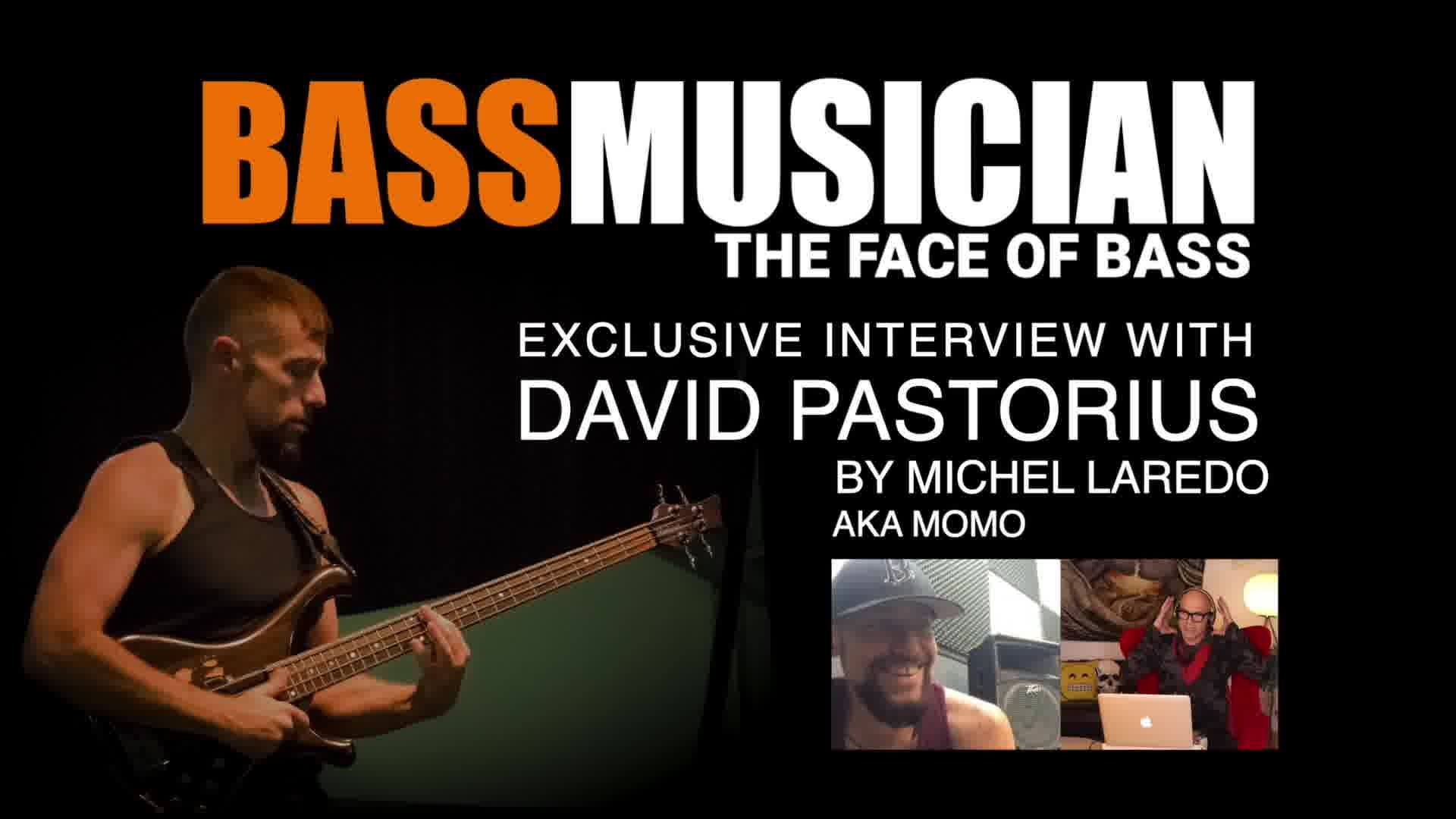 You guys got to checkout  this awesome David Pastorius interview i did with this killer bass player. It goes by fast and sweet and is full of Bass treats and surprises that will tickle your love of bottom end and then some. Check it out and spread th