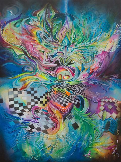 Beyond Me 9x10 Archival Canvas Paper Print LE/20