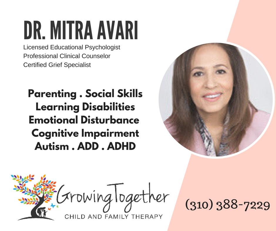 DR. MITRA AVARI - EDUCATIONAL PSYCHOLOGIST