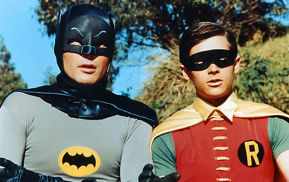 BATMAN AND ROBIN - FUN WITH KIDS IN LA