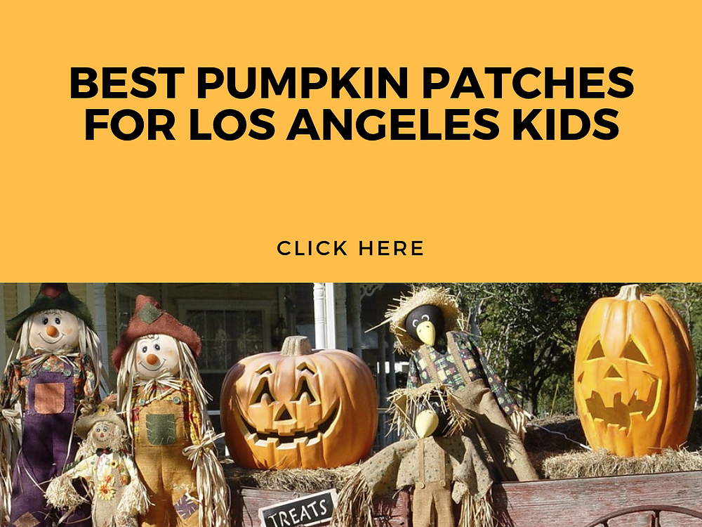 BEST PUMPKIN PATCHES FOR LOS ANGELES KIDS - FUN WITH KIDS IN LA