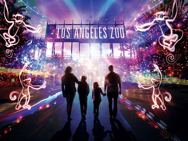 LA ZOO LIGHTS - FUN WITH KIDS IN LA