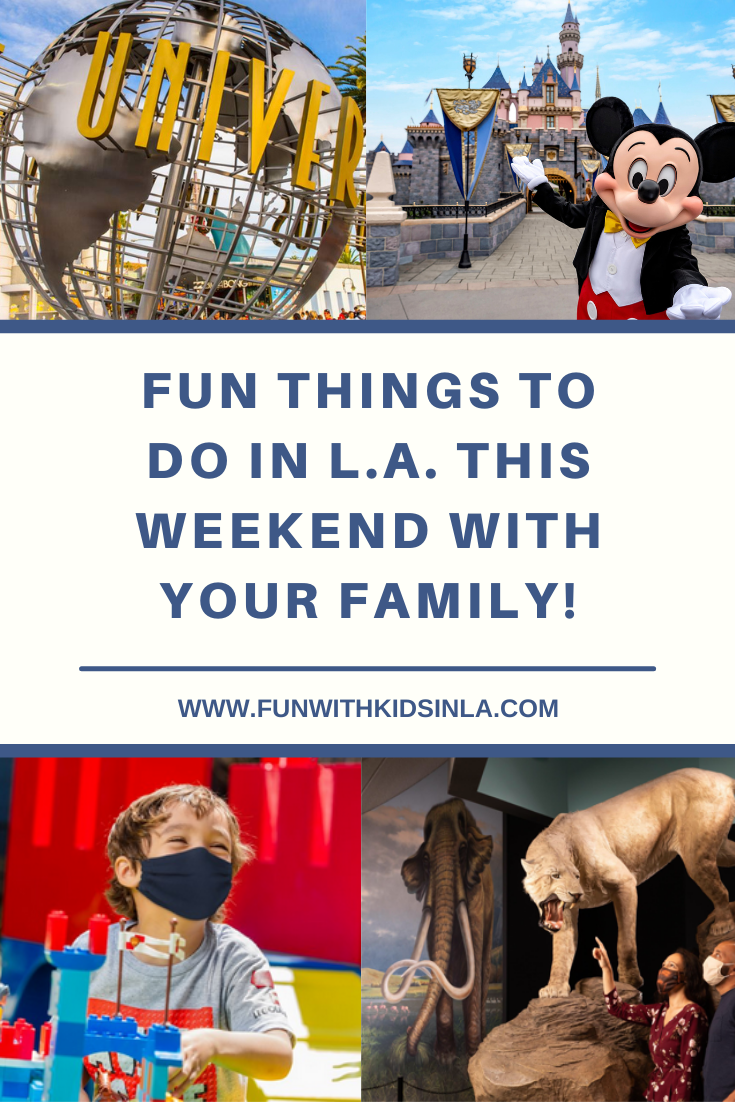 fun things to do with kids and family in LA