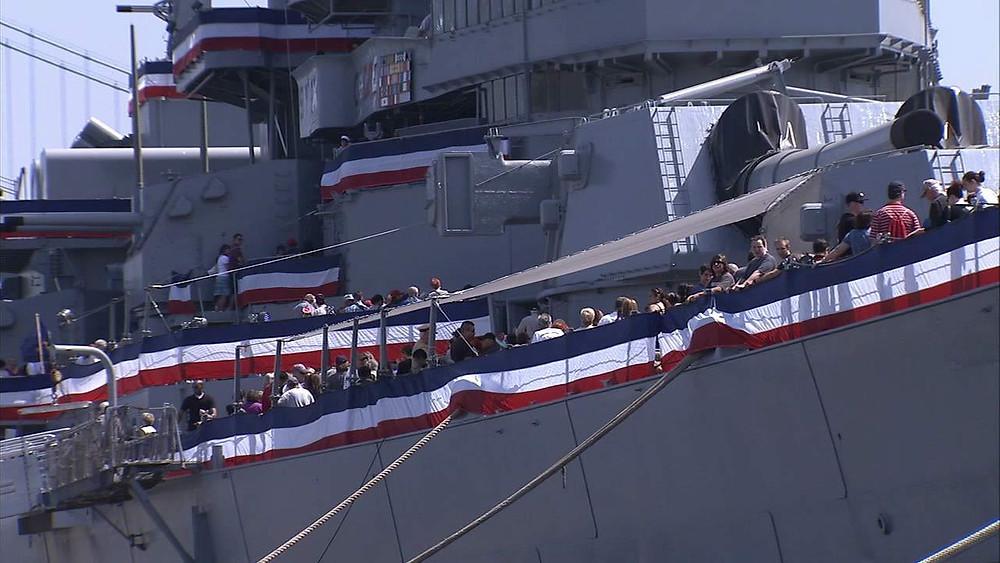 Memorial Day Weekend, Battleship Iowa, Fun With Kids in LA