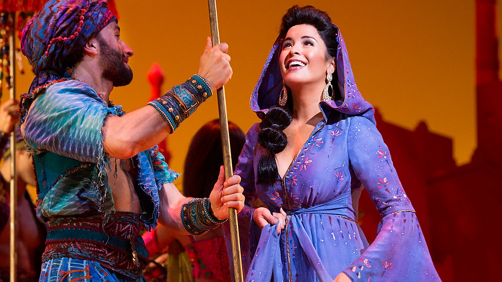 DISNEY'S ALADDIN - PANTAGES - FUN WITH KIDS IN LA