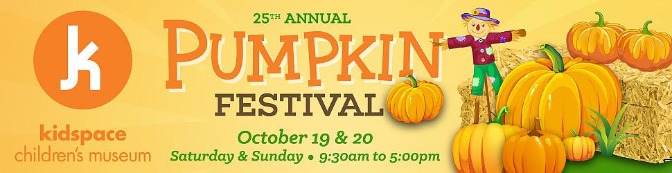 Kidspace Children's Museum Pumpkin Festival