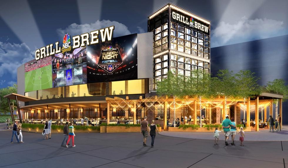 NBC Sports Grill & Brew, Citywalk Hollywood