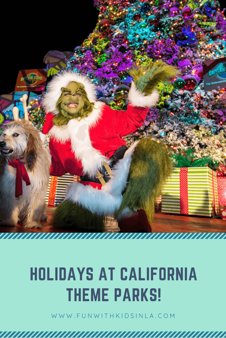 HOLIDAYS AT CALIFORNIA THEME PARKS