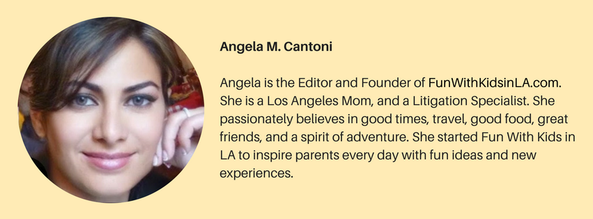 FUN WITH KIDS IN LA - ANGELA M. CANTONI - ABOUT US