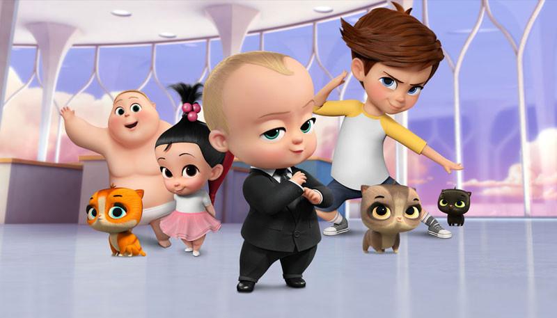 BOSS BABY BACK IN BUSINESS - NETFLIX - FUN WITH KIDS IN LA