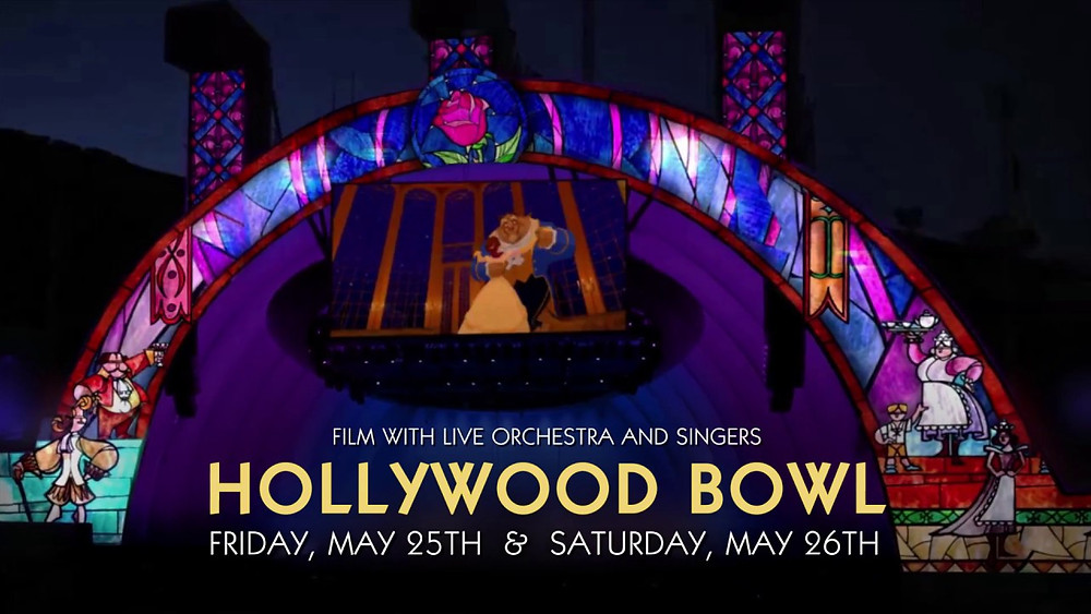 Beauty & the Beast, Concert, Hollywood Bowl, Fun With Kids in LA