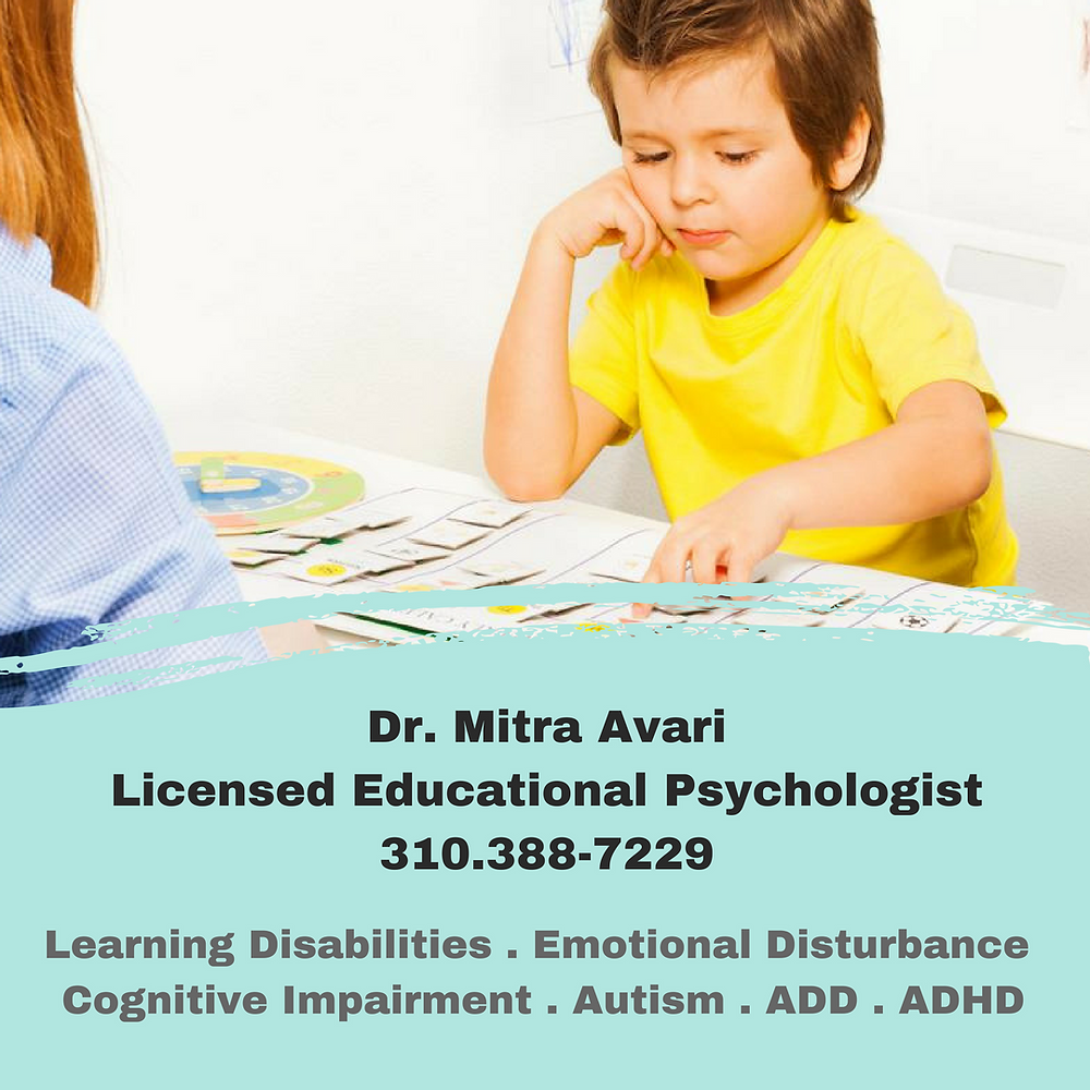 MITRA AVARI - EDUCATIONAL PSYCHOLOGIST - FUN WITH KIDS IN LA (SPONSORED)