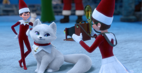 A Fox Cub's Christmas Tale gives a glimpse into the magical world of Santa's North Pole!