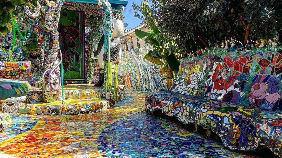 The Mosaic Tile House