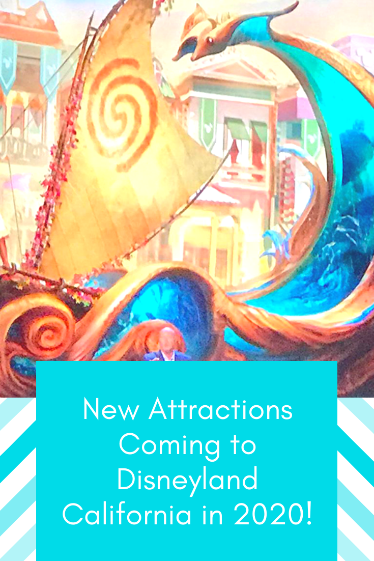 New New Attractions at Disneyland California