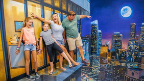 Museum of Illusions 3D Experience Transports You to a World of Fantasy!