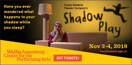SHADOW PLAY AT WALLIS ANNENBERG - FUN WITH KIDS IN LA - AD