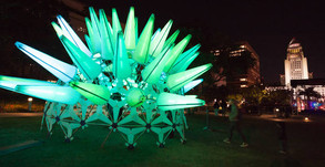 Grand Park's Winter Glow Celebrates Holidays With Interactive Nightime Art Experience!