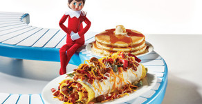 Celebrate with IHOP to welcome the Scout Elves back from the North Pole!