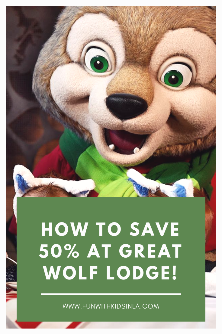 HOW TO SAVE BIG ON GREAT WOLF LODGE - FUN WITH KIDS IN LA