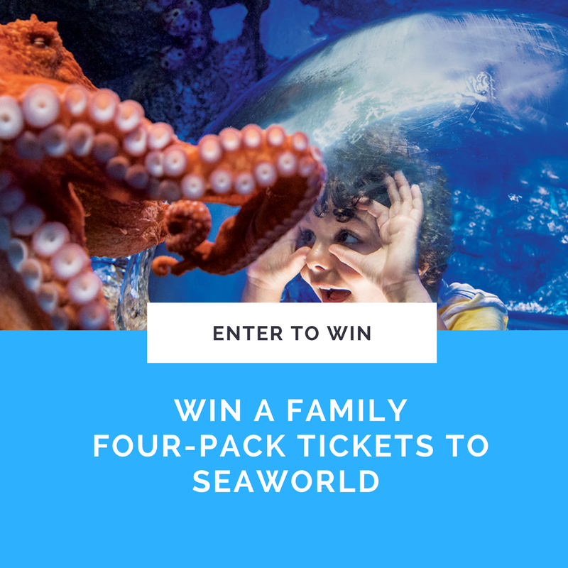 SEAWORLD - GIVEAWAY - FUN WITH KIDS IN LA