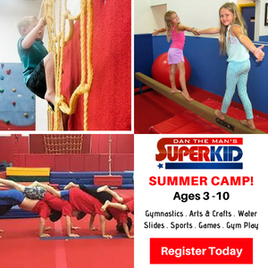 Summer Camp, Dan The Man's SuperKid, Gymnastic