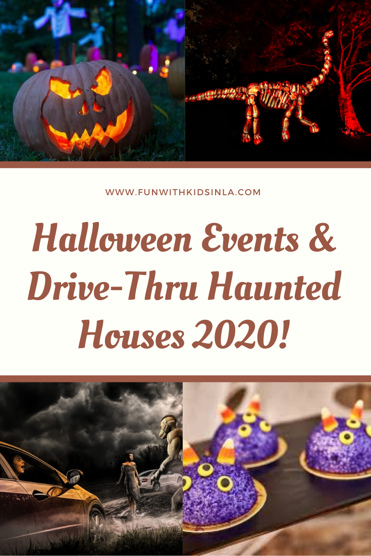 Halloween events and drive-thru haunted houses 2020