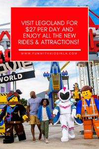 Visit LEGOLAND for $27 Per Day and Enjoy All the New Rides & Attractions!