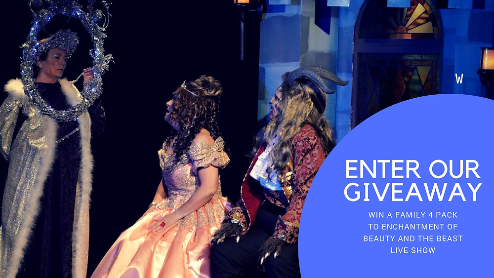 ENCHANTMENT OF BEAUTY AND THE BEAST - GIVEAWAY - FUN WITH KIDS IN LA