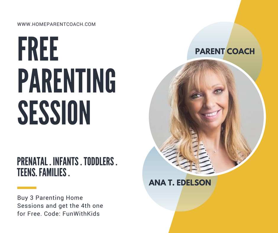 HOME PARENT COACH, PARENTING, FUN WITH KIDS IN LA, FREE PARENTING SESSION