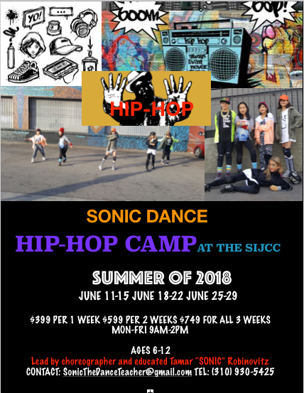 Hip Hop, Hip Hop Dance Classes for kids, Summer Camp, Fun With Kids in LA
