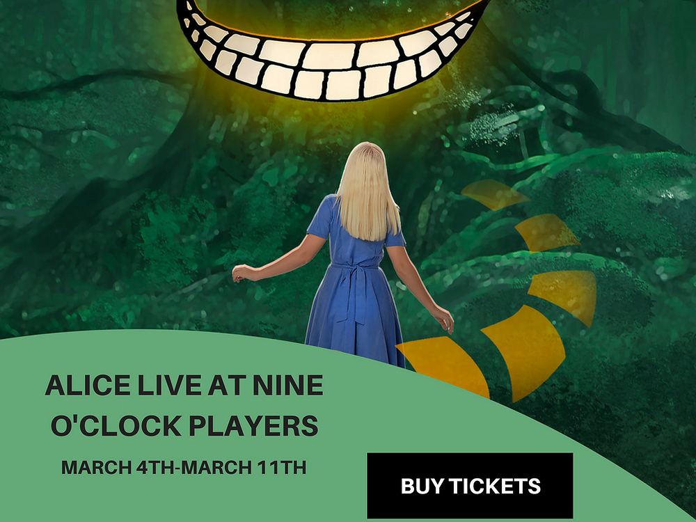 ALICE LIVE AT NINE O'OCLOCK PLAYERS - FUN WITH KIDS IN LA