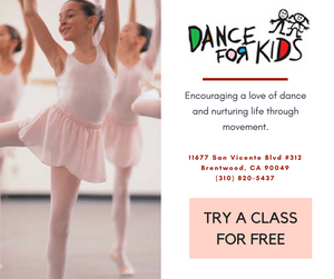free class, los angeles, ballet, dance for kids, fun with kids in la