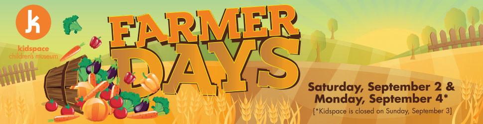 KIDSPACE FARMER DAYS - FUN WITH KIDS IN LA