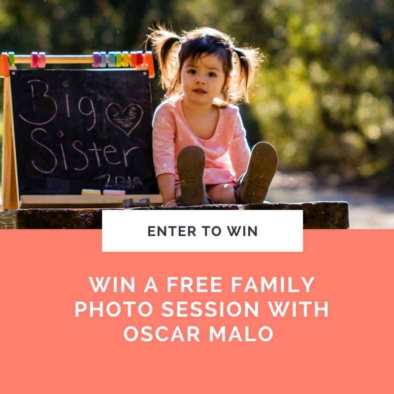 Win A Free Family Photo With Oscar Malo - Fun With Kids in LA
