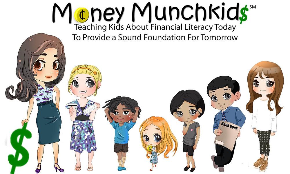 Money Munchkids, Summer Camp, Money Management for kids, fun with kids in la