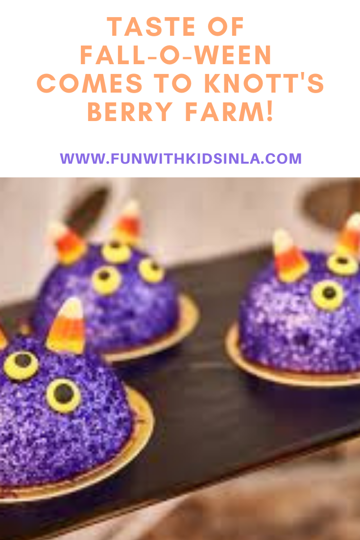 Taste of Fall-O-Ween at Knott's Berry Farm