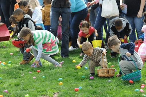 Egg Hunt at Kidspace Children Museum - FUN WITH KIDS IN LA