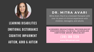 DR. MITRA AVARI - CHILD PSYCHOLOGIST