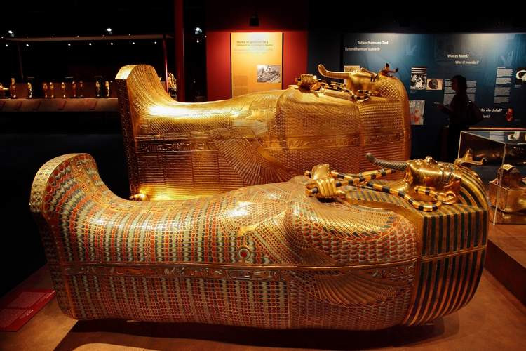King Tut Exhibition - FUN WITH KIDS IN LA