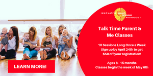 Talk Time Parent and Me Classes