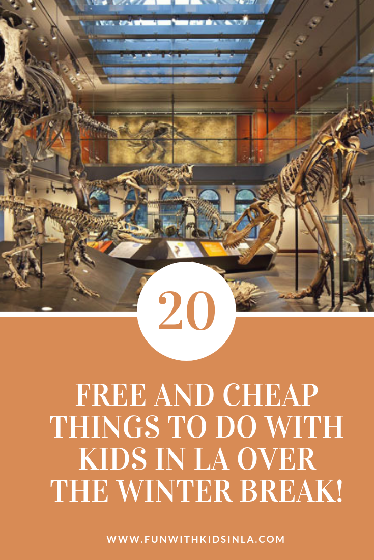 20 FREE AND CHEAP THINGS TO DO WITH KIDS DURING WINTER BREAK