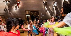 Noah's Ark After Dark Pajama Party At Skirball
