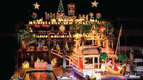 Newport Beach Christmas Boat Parade and Ring of Lights 2020-2021