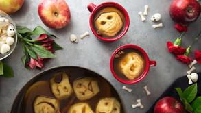 How To Make Shrunken Head Dessert For Halloween!