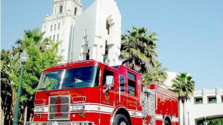Beverly Hills Fire Department Tours