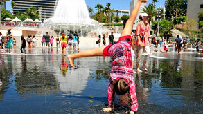 The Best Splash Pads In Los Angeles for Kids & Families!