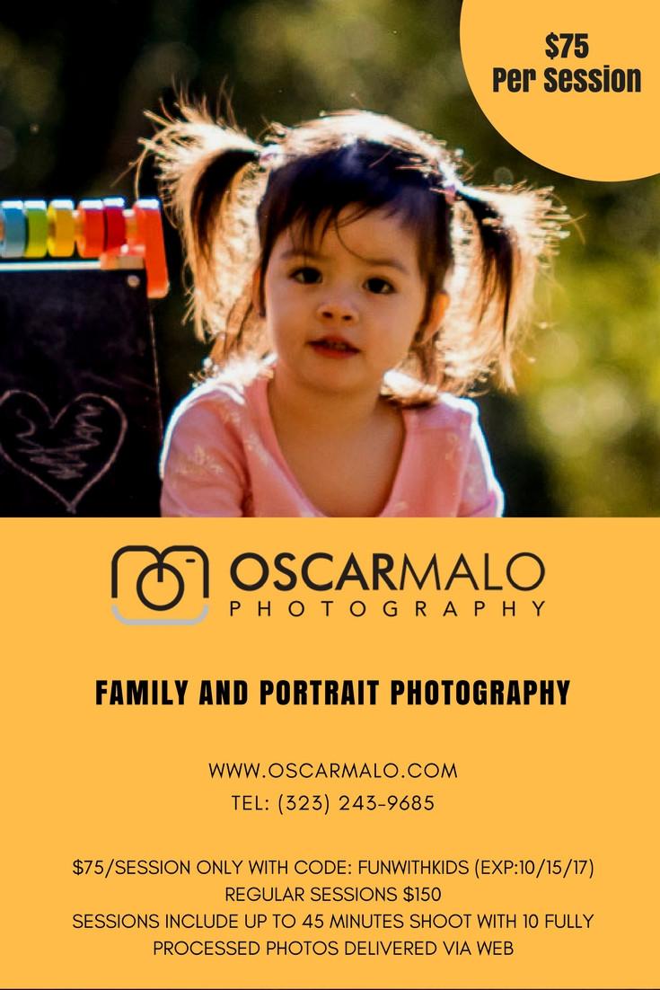 OSCAR MALO PHOTOGROPHY - FUN WITH KIDS IN LA