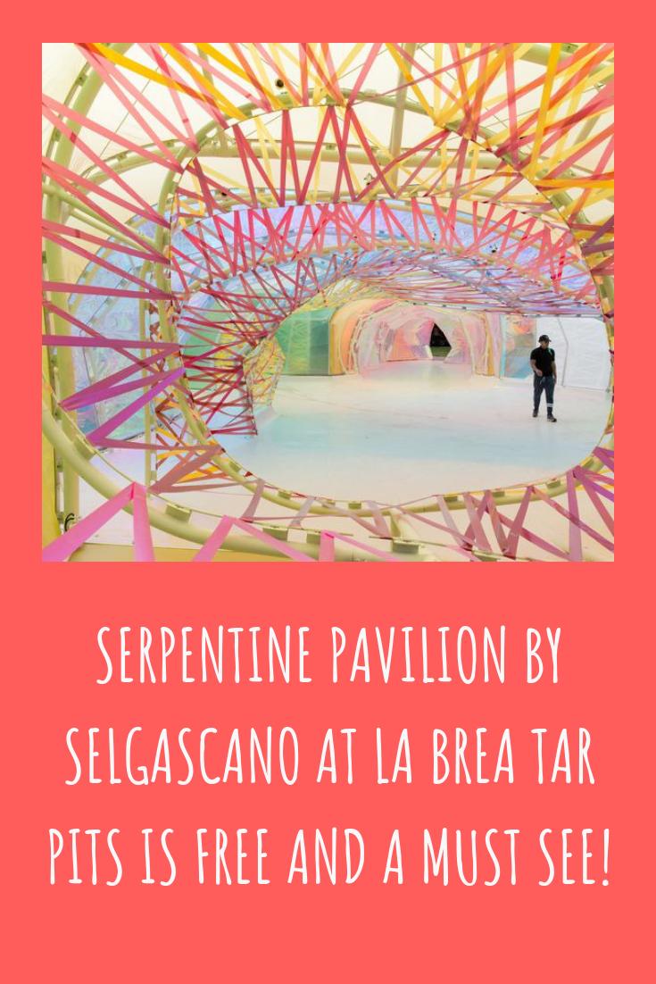 Serpentine Pavilion at La Brea Tar Pits