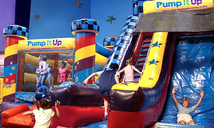 Pump it Up Indoor Playground